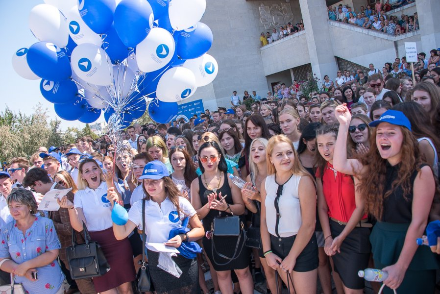 Поздравление координатора Севастопольского городского отделения ЛДПР Ильи Журавлева с Днем студента