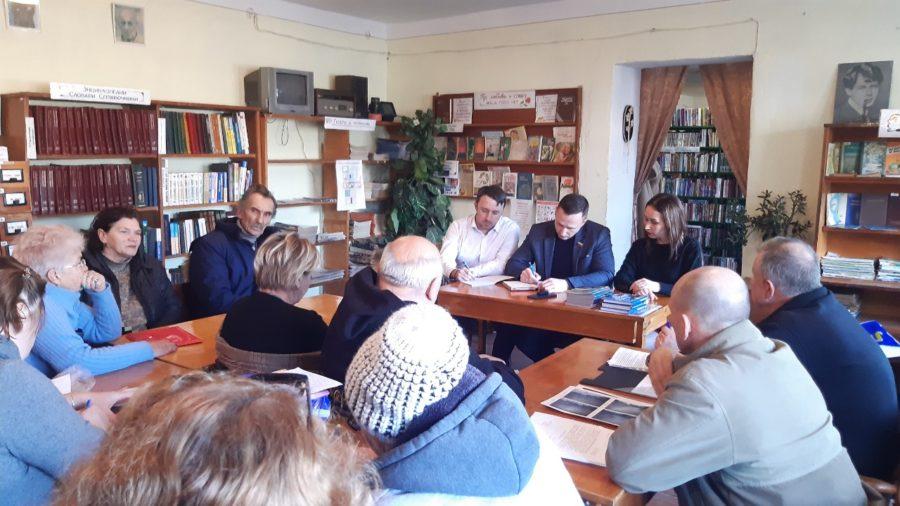 Андрей Куринов намерен помочь жителям Орловки решить проблемы газификации и канализования поселка