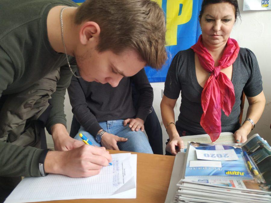 Партактив Гагаринского отделения ЛДПР обсудил планы на февраль