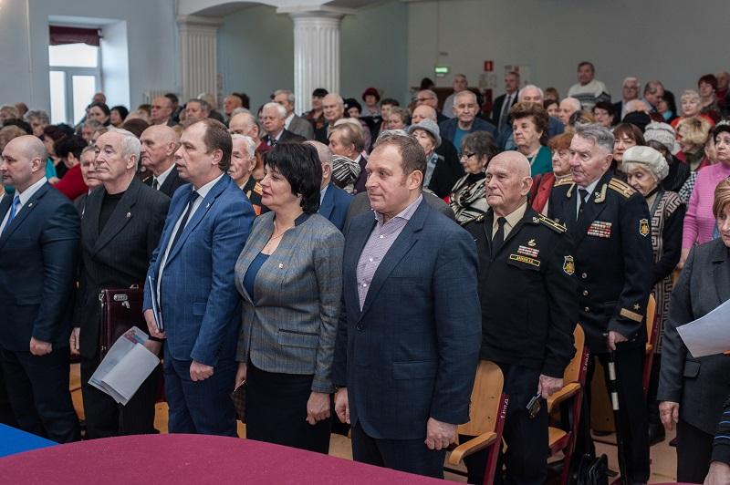 Илья Журавлев принял участие в конференции севастопольской организации ветеранов