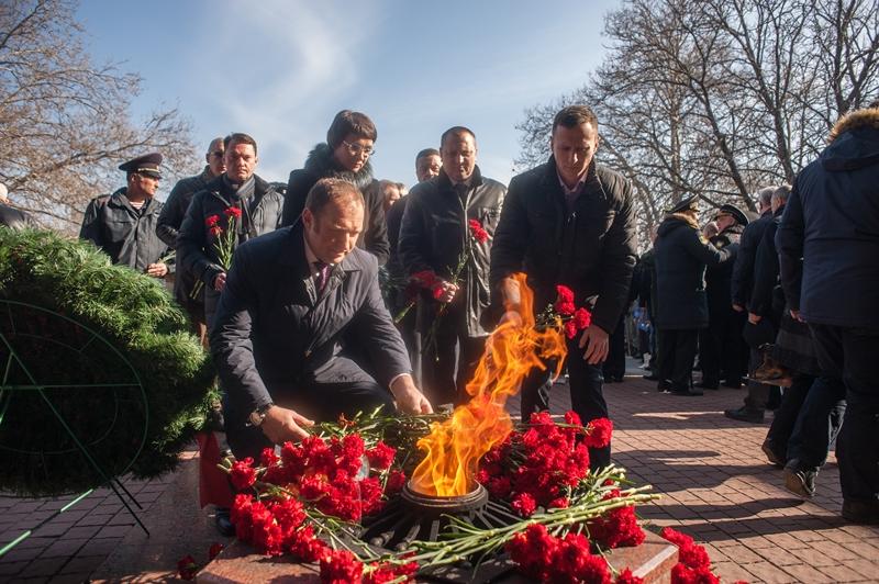 Депутаты от ЛДПР приняли участие в праздновании Дня защитника Отечества и Дня народной воли
