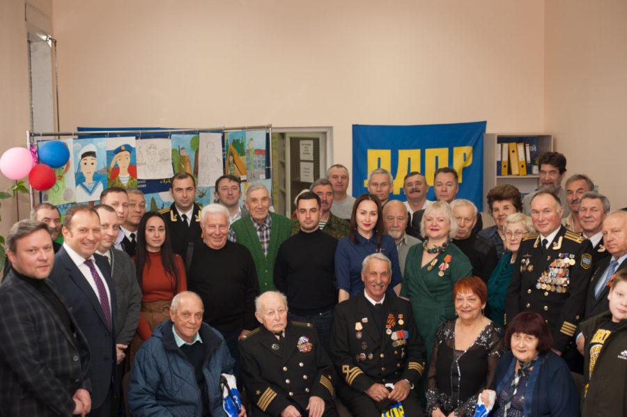 Севастопольские либерал-демократы торжественно отметили День защитника Отечества