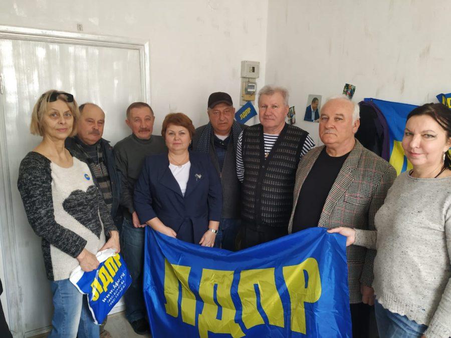 Гагаринцы провели торжественное собрание по случаю Дня защитника Отечества