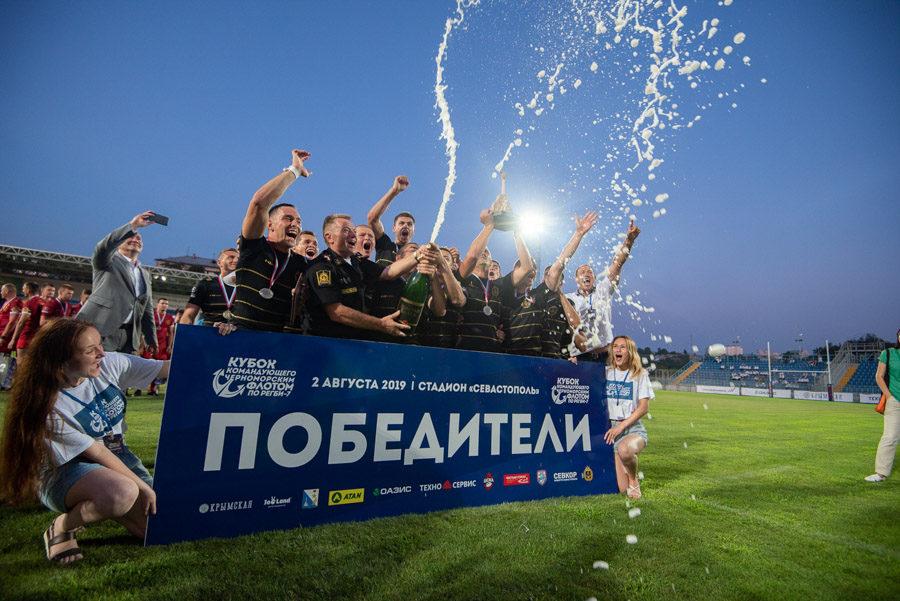 Спорткомплекс имени 200-летия Севастополя оснастят современным травяным полем для регби и футбола