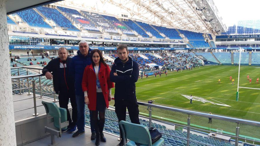 Представители Севастопольской федерации регби посетили открытие чемпионата Европы по регби в Сочи