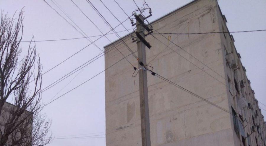 Активисты ЛДПР добились замены аварийной опоры освещения на Радиогорке
