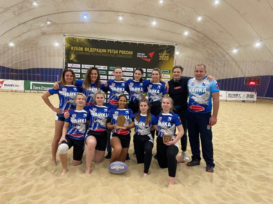 Севастопольские спортсменки в восьмерке лучших команд России по пляжному регби