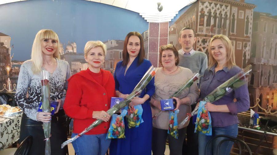 В Нахимовском районе чествовали активисток ЛДПР