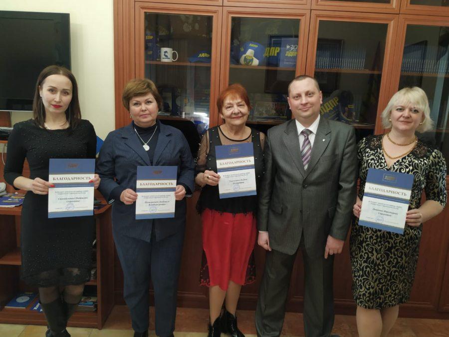Владимир Жириновский отметил работу севастопольских женщин